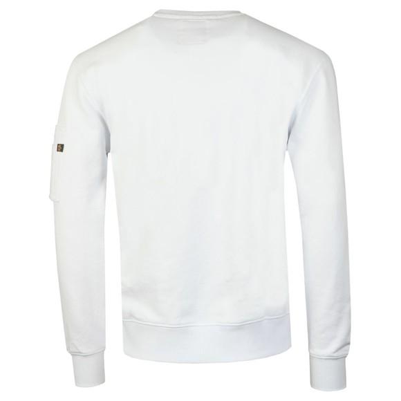 Alpha Industries Mens White Viking Basic Sweatshirt main image