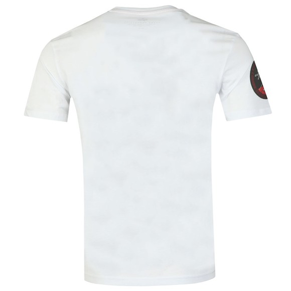 Alpha Industries Mens White Viking 76 T Shirt main image