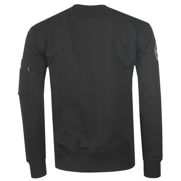 Alpha Industries Mens Black Viking Superstar Sweatshirt main image