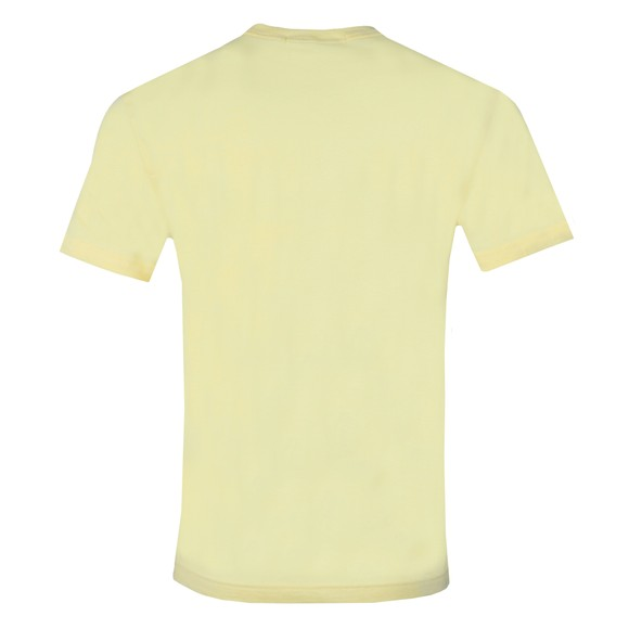 Calvin Klein Jeans Mens Yellow Chest Logo T-Shirt main image