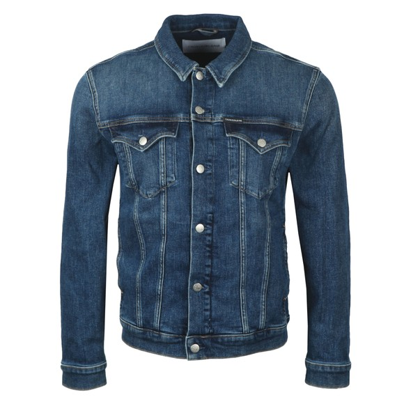 Calvin Klein Jeans Mens Blue Denim Jacket