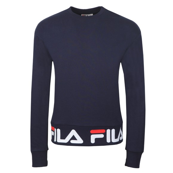 Fila Mens Blue Neil Crew Sweatshirt