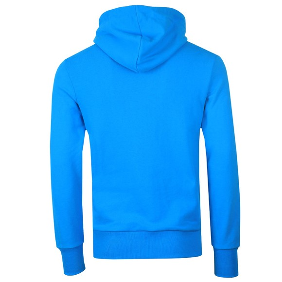 Superdry Mens Blue VL Cross Hatch Hoodie main image