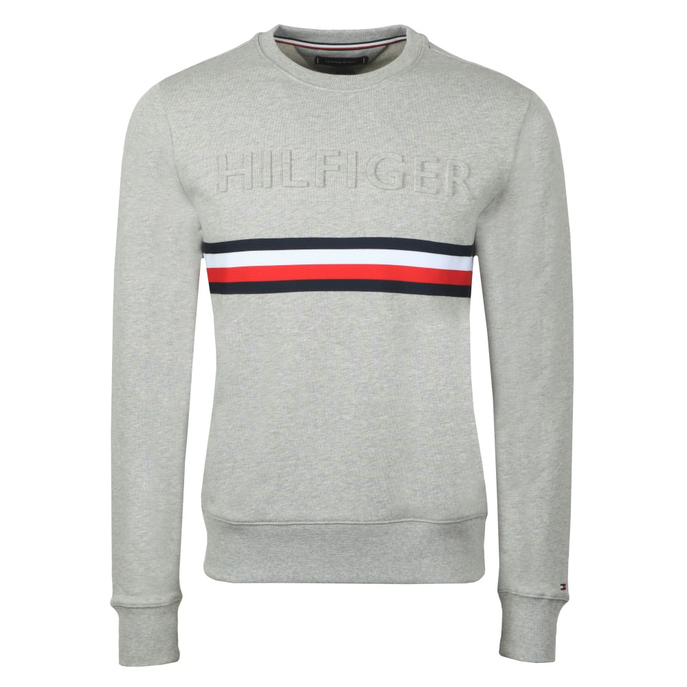 Embossed Sweatshirt main image