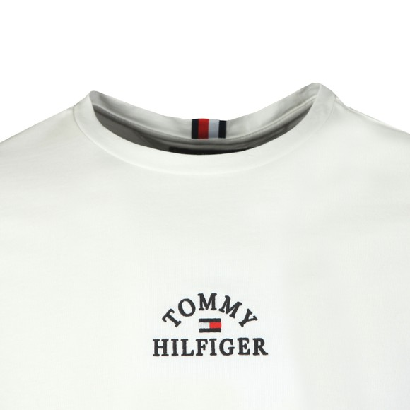 Tommy Hilfiger Mens White Arch T-Shirt main image