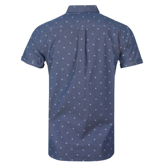 Superdry Mens Blue Classic Shoreditch Print SS Shirt main image