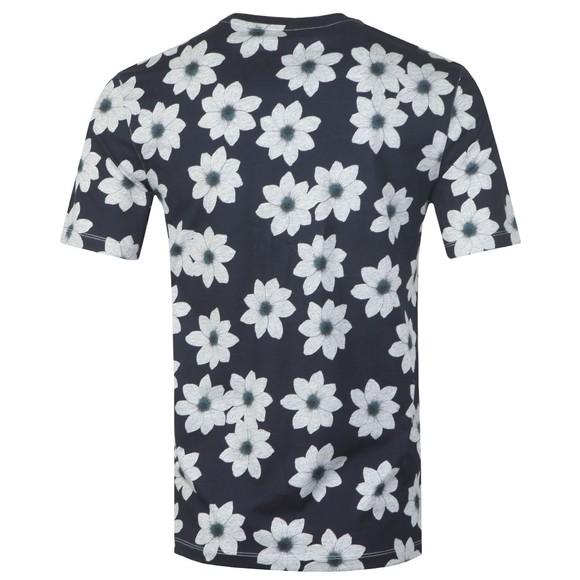 Ted Baker Mens Blue All Over Flower T-Shirt main image