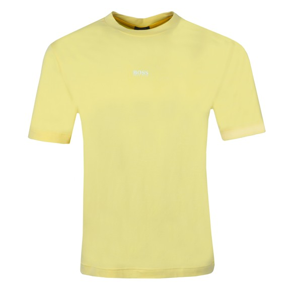 BOSS Mens Yellow Casual TChup T-Shirt