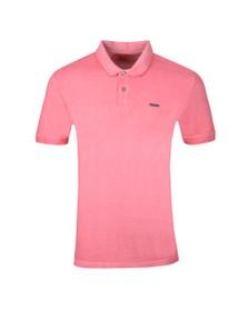 HUGO Mens Pink Dagic Polo Shirt