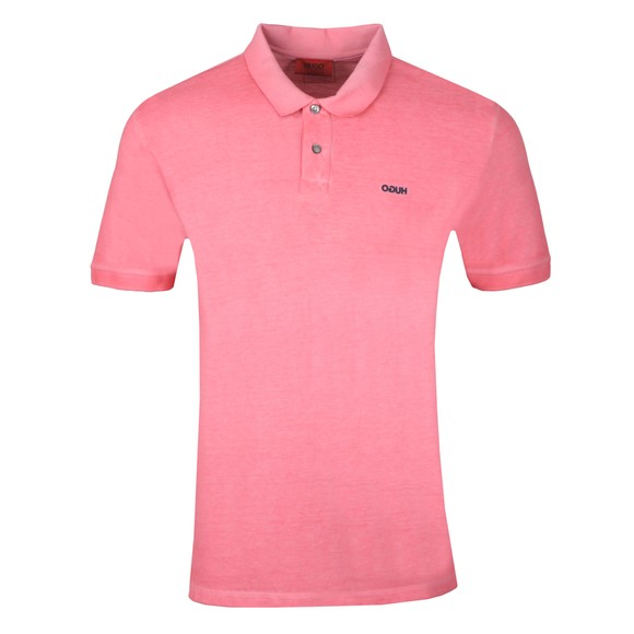 HUGO Mens Pink Dagic Polo Shirt main image