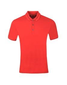 HUGO Mens Red Demoso202 Polo Shirt