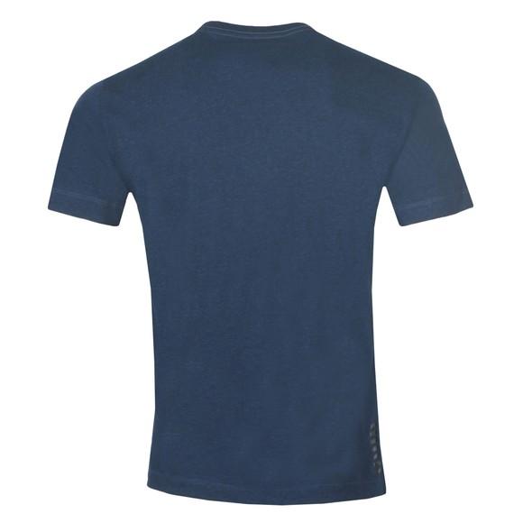 EA7 Emporio Armani Mens Blue Small Logo T-Shirt main image