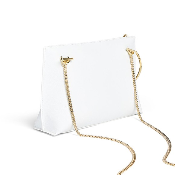 Ted Baker Womens Off-White Ingaah Textured Ring Bracelet Clutch main image