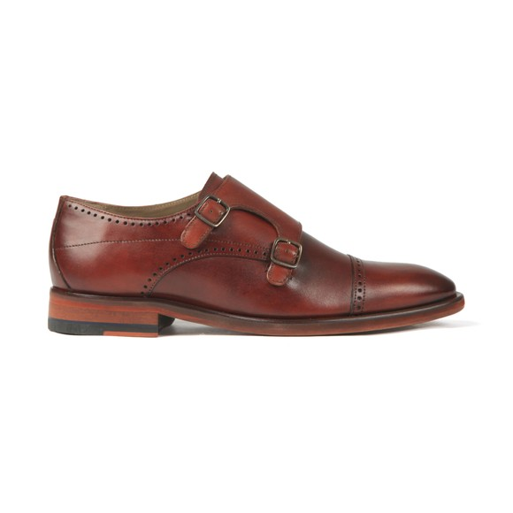 Oliver Sweeney Mens Brown Ackergill Monk Shoe