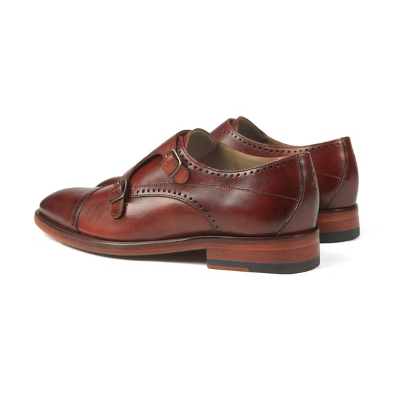 Oliver Sweeney Mens Brown Ackergill Monk Shoe main image