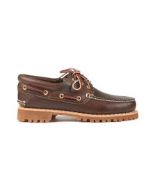 Timberland Mens Brown Classic Boat Shoe