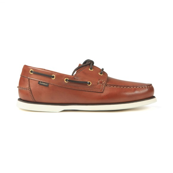 Loake Mens Brown 528CD Boat Shoe