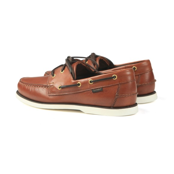 Loake Mens Brown 528CD Boat Shoe main image