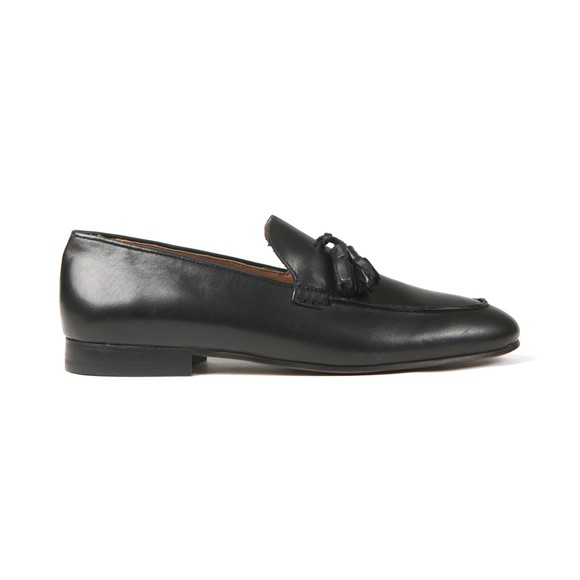 H By Hudson Mens Black Bolton Leather Shoe