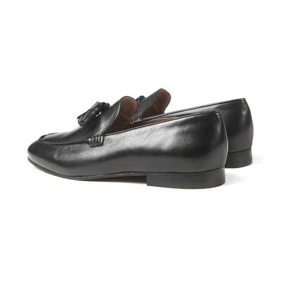 H By Hudson Mens Black Bolton Leather Shoe main image
