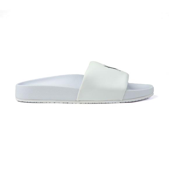 Polo Ralph Lauren Mens White Cayson PP Slide