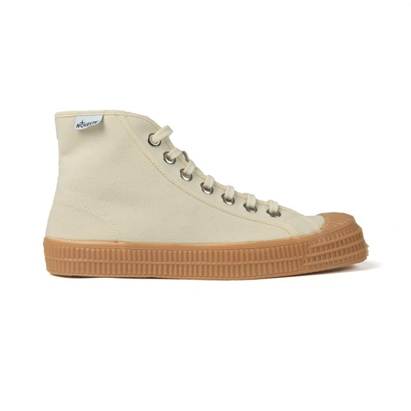 Novesta Mens Beige Star Dribble Trainer