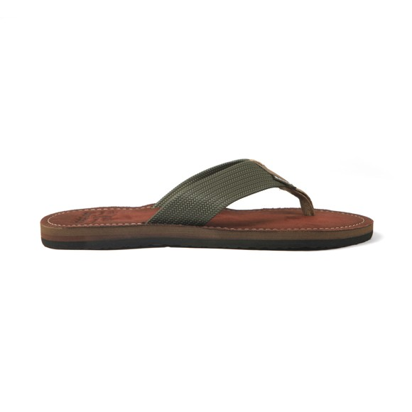 Barbour Beacon Mens Green Toeman Flip Flop
