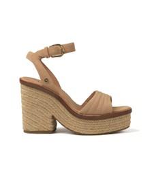 Ugg Womens Brown Laynce Sandal
