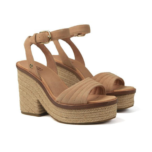 Ugg Womens Brown Laynce Sandal main image