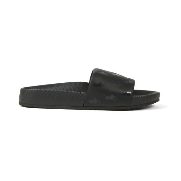 Polo Ralph Lauren Mens Black Cayson PP Slide