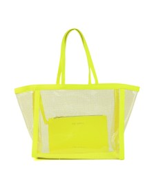 Ted Baker Womens Green Nicoley Transparent Shopper Bag
