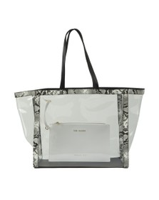 Ted Baker Womens Black Mildie Transparent Shopper