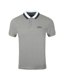 Barbour International Mens Grey Ampere Polo Shirt