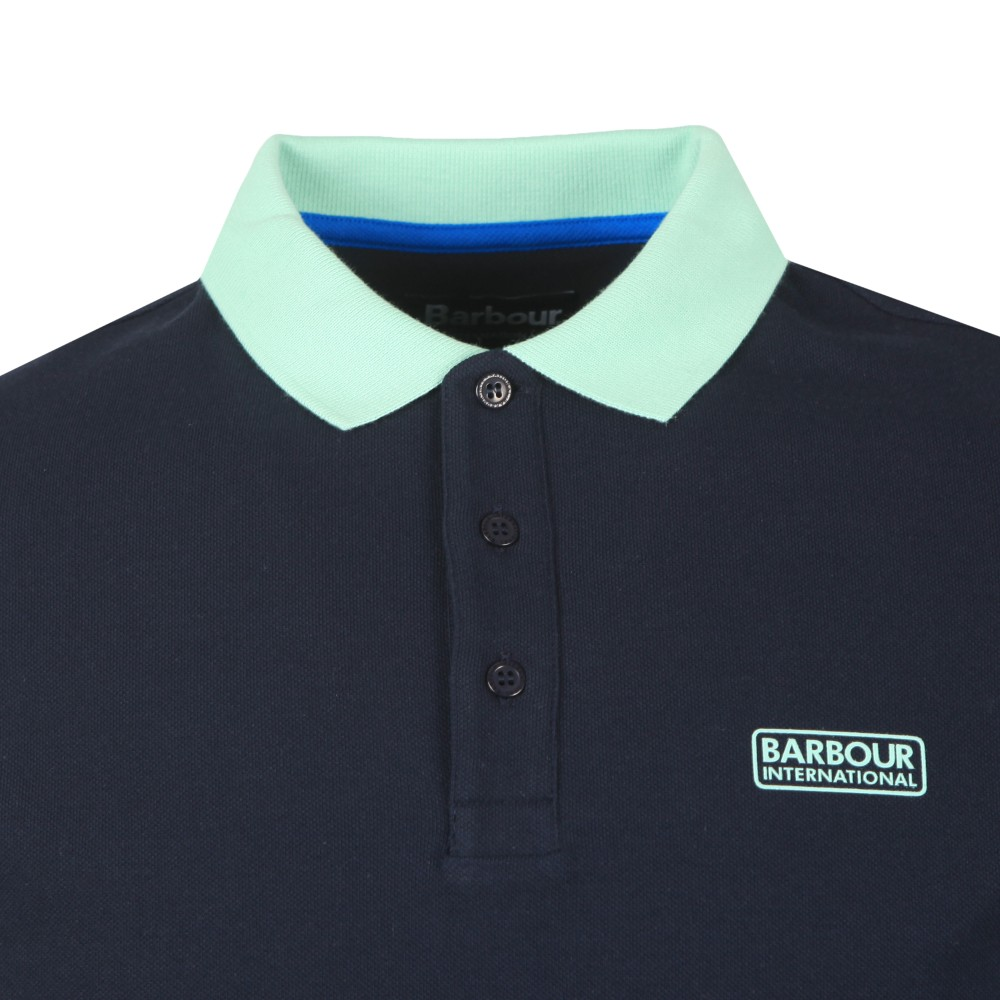 Contrast Polo Shirt main image