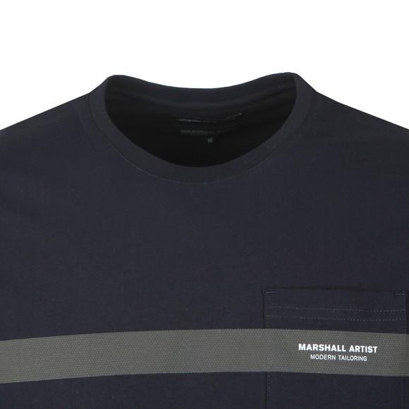 Marshall Artist Mens Blue Iridescent T-Shirt