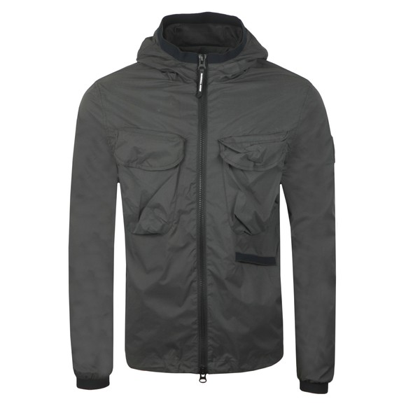 Marshall Artist Mens Grey Reflective Jacket