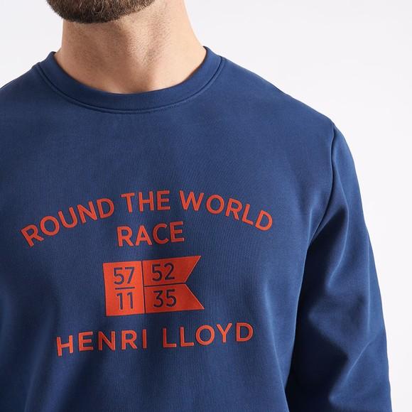 Henri Lloyd Mens Blue RWR Sweatshirt main image