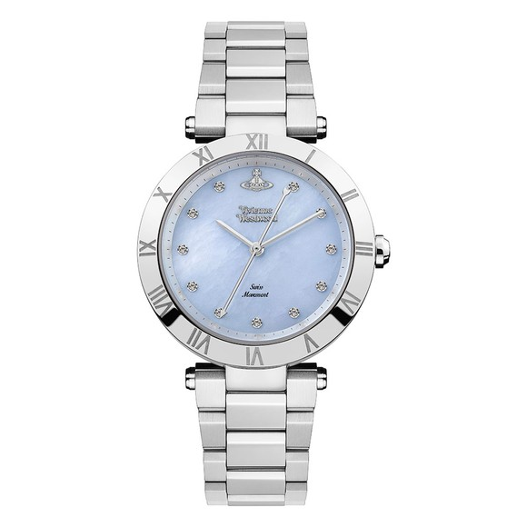 Vivienne Westwood Womens Blue Montagu Ladies Watch