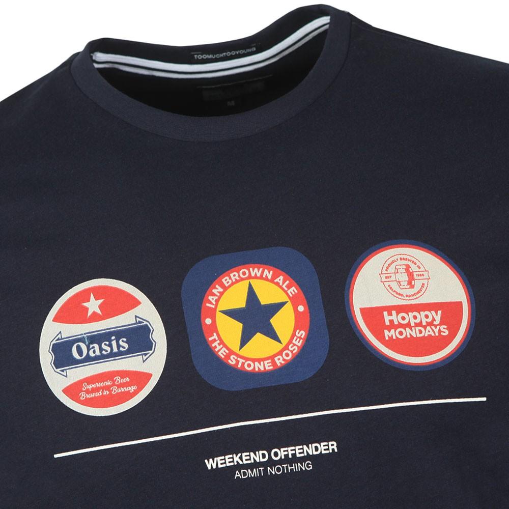 Beer Mats T Shirt main image