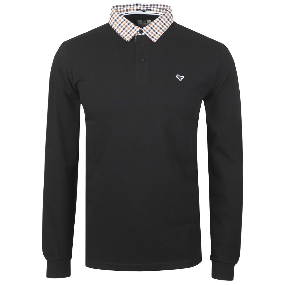 Bentvena Long Sleeve Polo Shirt main image