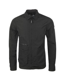 Weekend Offender Mens Black Vinnie Overshirt