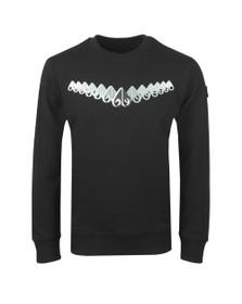 Moose Knuckles Mens Black Perspective Sweatshirt