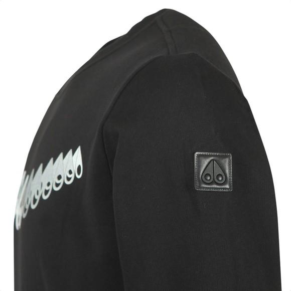 Moose Knuckles Mens Black Perspective Sweatshirt main image
