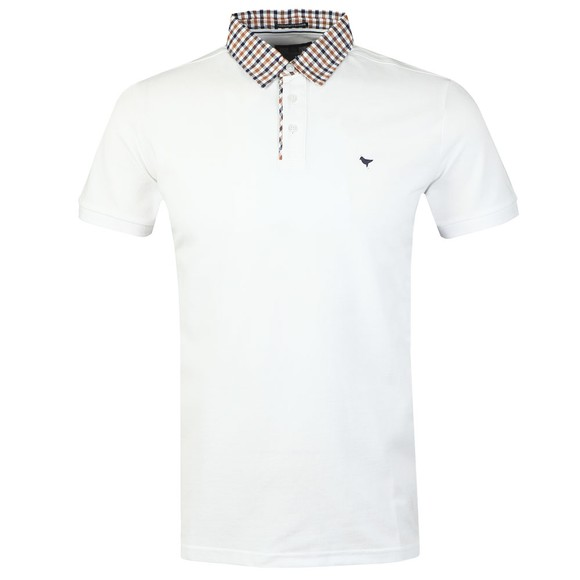 Weekend Offender Mens White Liotta Polo Shirt