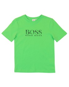 BOSS Boys Green Regular T-Shirt