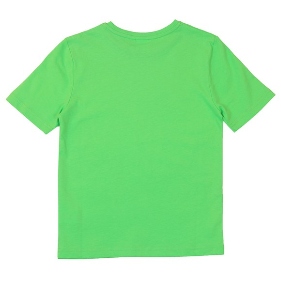 BOSS Boys Green Regular T-Shirt main image