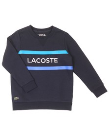 Lacoste Sport Boys Blue SJ3311 Duo Strip Sweatshirt