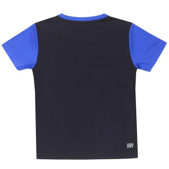 Lacoste Sport Boys Blue Colour Block T-Shirt main image