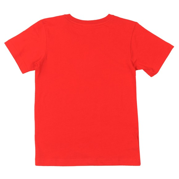 Lacoste Boys Red Small Logo T Shirt main image