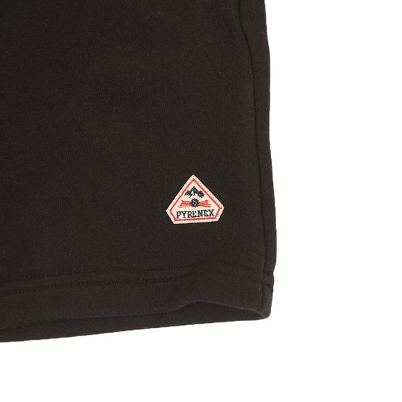 Pyrenex Boys Black Mael Sweat Short